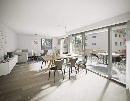 Moderne 3½-Zi-Wohnungen im MINERGIE-Standard