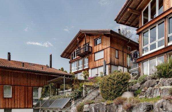4½-Zimmer-Maisonette mit freier Sicht auf See und Alpen